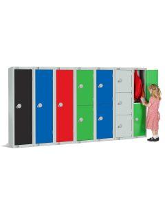 Elite Reduced Height School Lockers