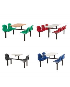 Harvey Fixed Canteen Seating Unit