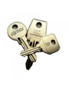 Lowe and Fletcher Locker Key 36001-38000 - Probe