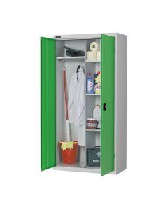 Probe Janitorial Cupboard - Green Doors