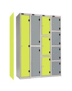 Probe Shockbox Laminate Door Lockers - Inset