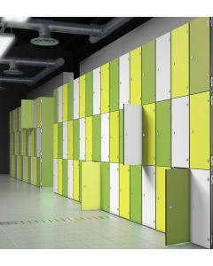 Probe Zenbox Laminate Door Aluminium Lockers
